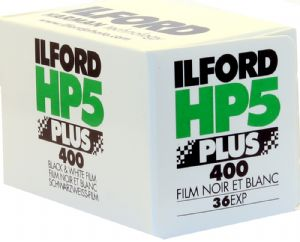 Ilford HP5 400 iso 36 exposure Black & White Camera Film